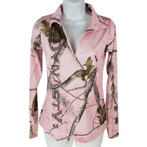 Realtree Duck Dynasty girl Pink Camo Athletic Full